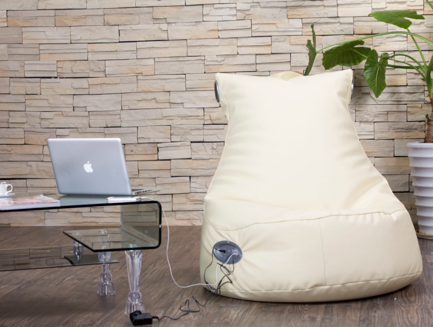 Lounge Beanbag Lying Bed with speakers