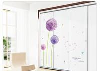 Dandelion Fly Mural Removable Decal Room Wall Sticker Home Decor Vinyl Art DIY