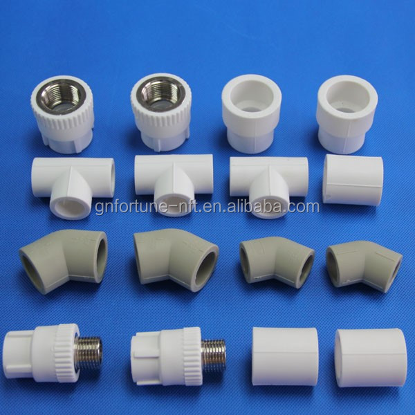 All Types Of Ppr Pvc Pipe Fitting Clamps Male Thread Union