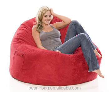 Soft Portable Bulk Sofa Style Lazy Sit Bean Bag Chair