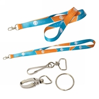Custom Logo Printing Polyester Lanyard/Cheap Wholesale Neck Lanyard/Promotional Dye Sublimation Lanyard