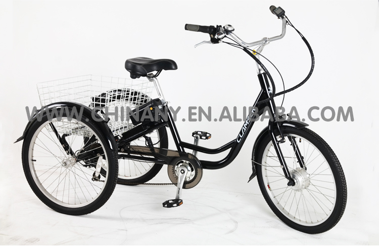 2015 hot sale electric adult tricycle /36V/250W Tricycle GW7015E