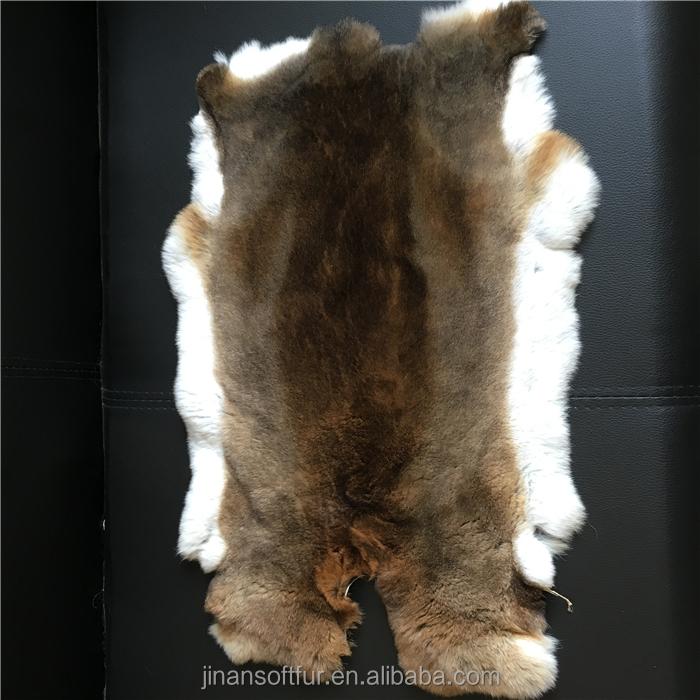 5pcs 100/% Real Natural Tanned Rabbit Fur Skin Pelt Hide Can be Used DIY Decorate