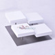 Fashion luxury wooden white paint bracelet stand holder