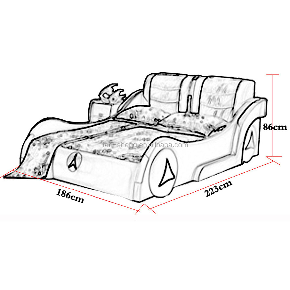 Kids Bedroom Drawing fansheng bmw car style kids bed,adult children car bed price - buy