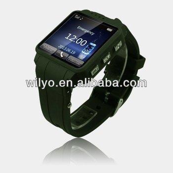 W120 1.54 Inch Gsm Sos Watch Kids Camera Watch 1.3mp Spy Watch ...