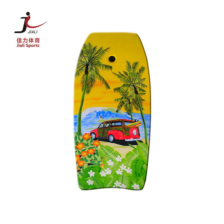 China manufacturer customized color new design custom body board  for decoration