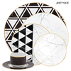 Wholesale japan dinnerware type fancy dinner sets with design china supplier