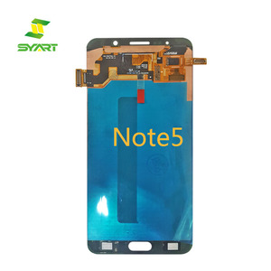 China supplier mobile phone touch screen replacement with digitizer LCD for samsung galaxy note 3 4 5 s6 s7 s7 edge