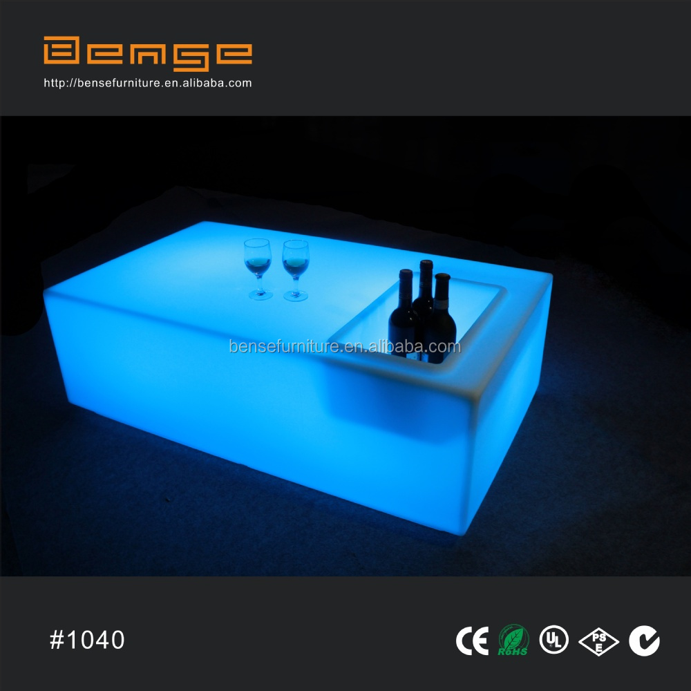 Modern Design Verlichting Ijsemmer Tafel Led Bar Tafel - Buy Led Bar ...