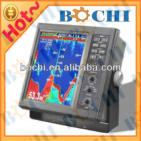 50/200KHz Ture Color Battery Powered Fish Finder