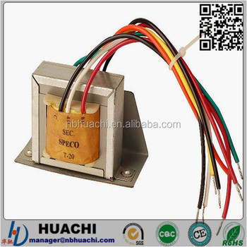 t 20 70v 100v line output transformer for multimedia audio equipment (dvd machines,public address system,speakers) buy output transformer,multiple  0 70v 100v transformer 8ohms input