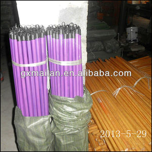 plastic wooden broom stick made in china with low price