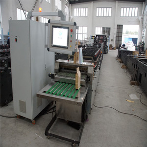 Many material applicable pouch making machine