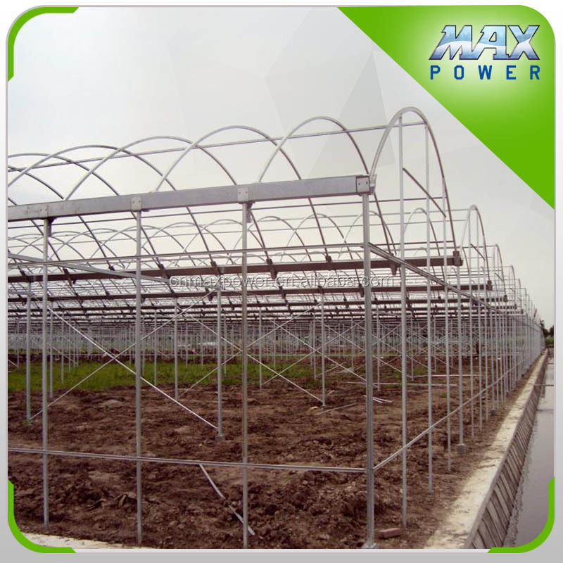 Galvanized pipe structure greenhouse tunnel garden