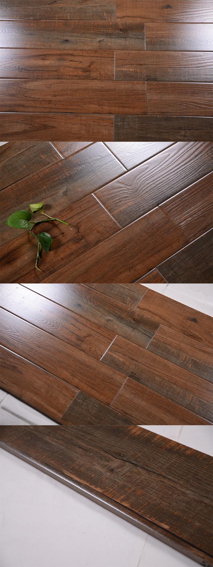Hyj15607m porcelain wood texture tile flooringteak wood floor hyj15607m porcelain wood texture tile flooring teak wood floor tile dailygadgetfo Image collections