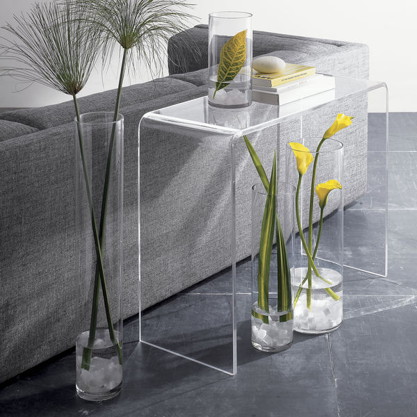 Superb Acrylic Waterfall Desk, Acrylic Waterfall Desk Suppliers And Manufacturers  At Alibaba.com