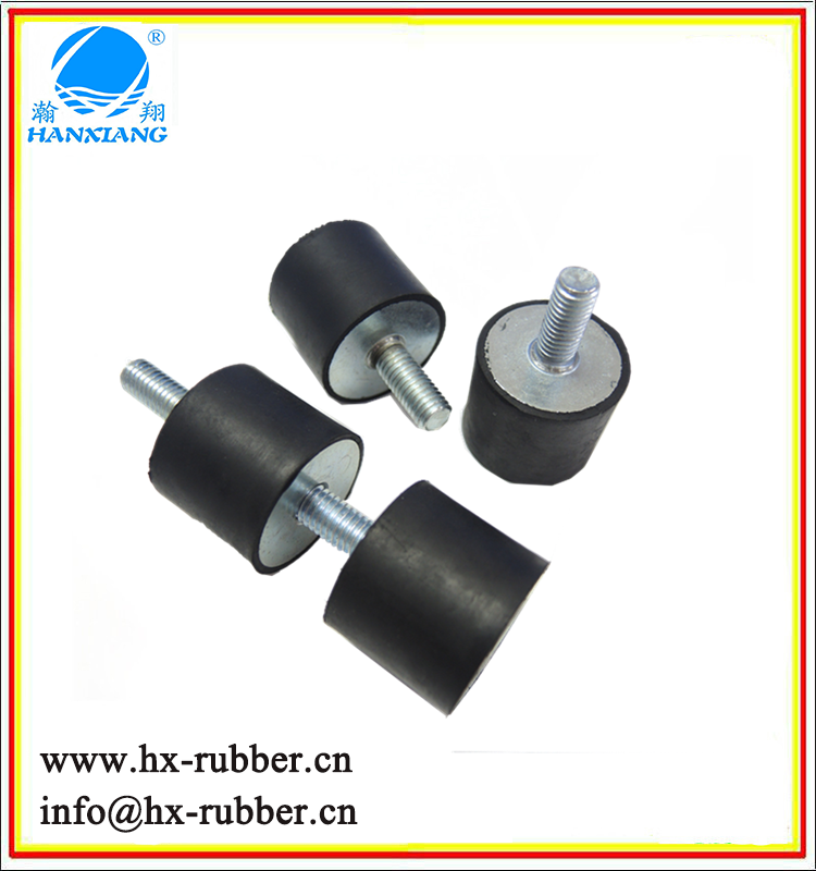 High Quality OEM Rubber Vibration Damper Anti Vibration Rubber Mount Screw Rubber Feet