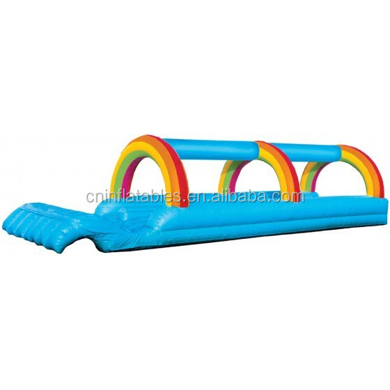 on sale inflatable wave runner wet slide, inflatable water slide for kids and adults