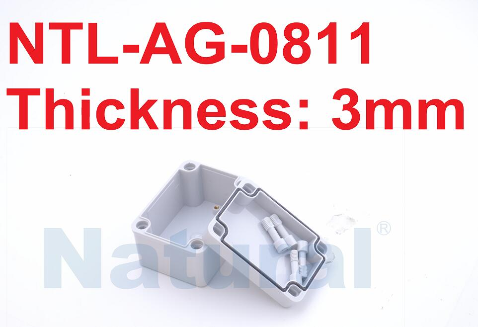 Switch box (screw open-closed type) waterproof box NTL-AG-0811