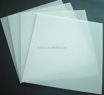 Frost Acrylic Diffusing Lighting Panels Non Glare Plastic Sheet Diffuser Led