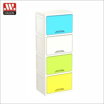 2017 haixing new stackable baby plastic storage box drawer/cabinet plastic drawer for kids  sc 1 st  Alibaba & 2017 Haixing New Stackable Baby Plastic Storage Box Drawer/cabinet ...