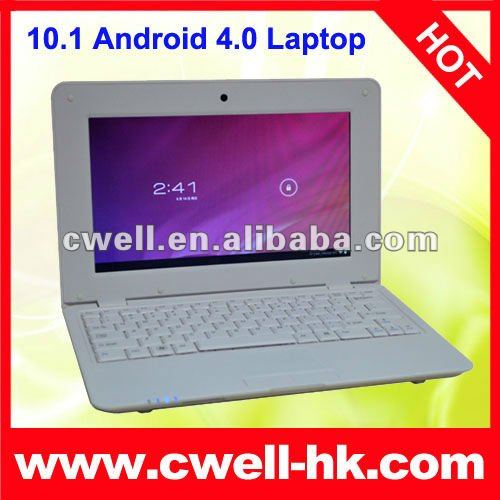 new arraival 10.1 inch android 4.0 laptop