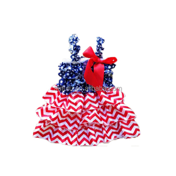 2018 National Day Baby Girls Boutique Dress