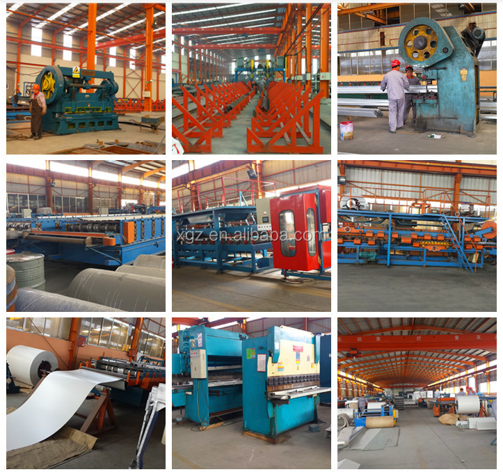 Prefab low cost steel structure warehouse on sale in Africa