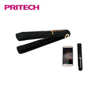 PRITECH Portable Cordless USB Rechargeable Flat Iron Hair Straightener With LED Temperature Control Settings