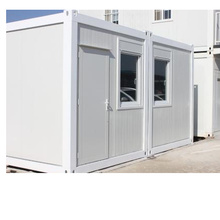 Light Steel Frame House Pre--Fabricated Office Container House Price