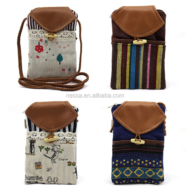 Fashion cell phone sling bag Wholesales D-006