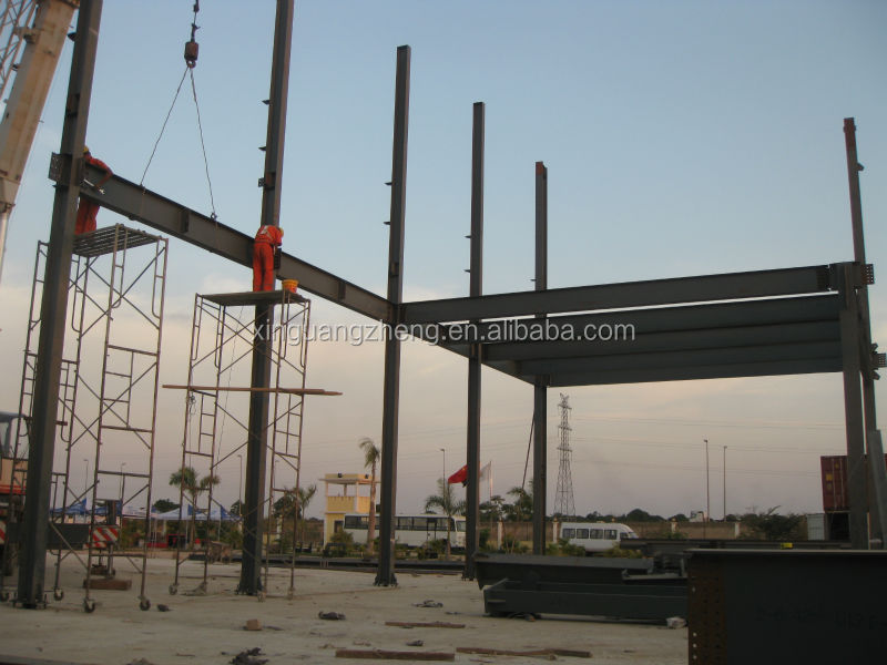 Steel Structure System Of Industrial Mine Platform Building