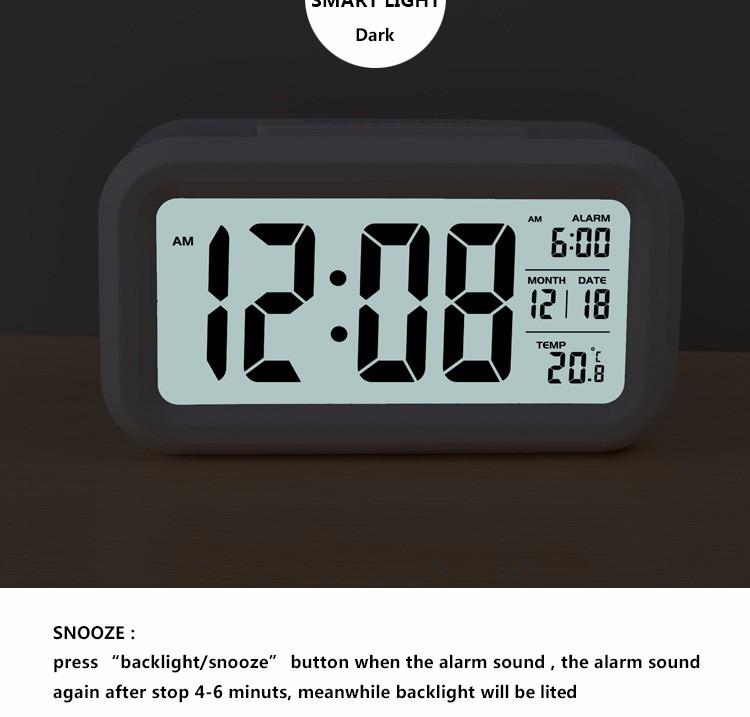 Digital LCD Alarm Clock Low Light Sensor Technology Light With Smart Controllable Backlight Alarm Clock & Digital Lcd Alarm Clock Low Light Sensor Technology Light With ... azcodes.com