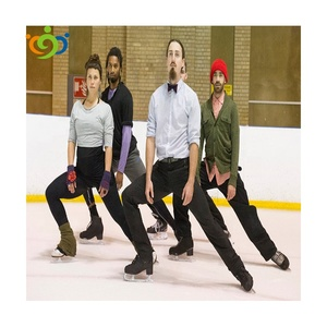HDPE white roller skating artificial ice rink flooring board