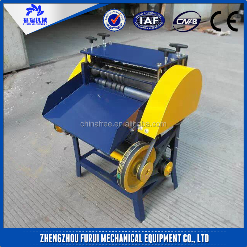 Hot selling commercial scrap copper wire stripping machine/wire stripping machine
