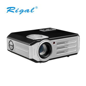 Newest projector mobile phone projector 3200 lumens 4k led dlp rohs projector