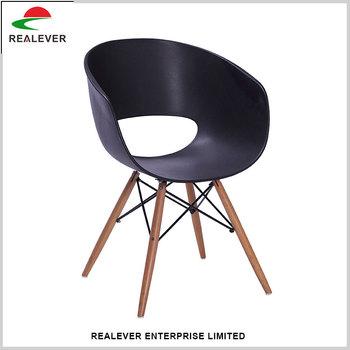 zwart houten base ron arad tom vac leisure stoel fauteuils