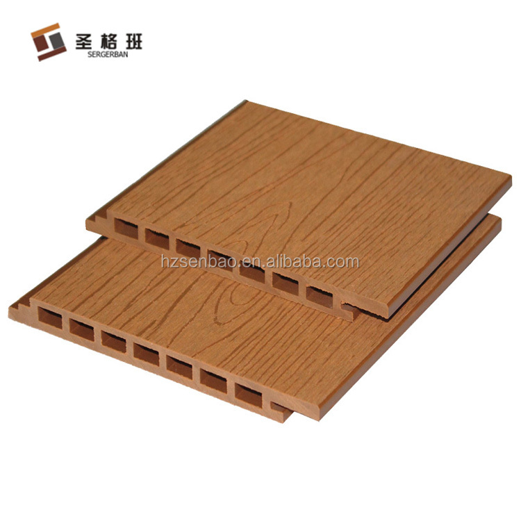 Wood plastic composite wpc wall decorative panel