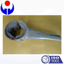 SANY concrete mixer abrasion resistant cast spare parts replacement parts