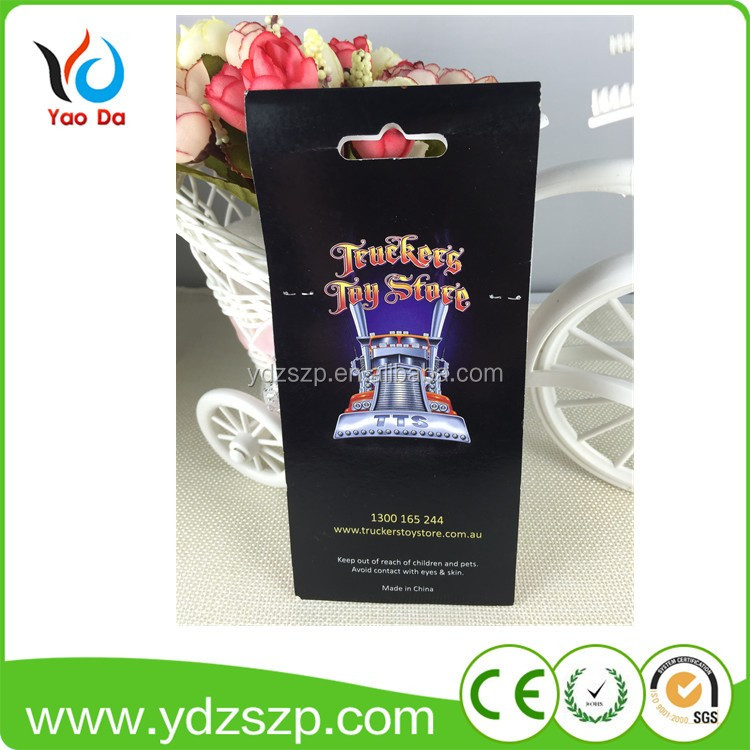 2018 hot sale customized cardboard any printing air freshener scented paper