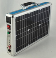 15W portable solar power generation outdoor solar energy generator for travle disaster relief lighting charge music etc