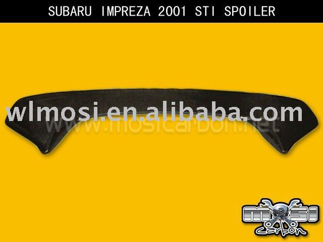 2001 ZERO REAR SPOILER CF FOR SUBARU IMPREZA