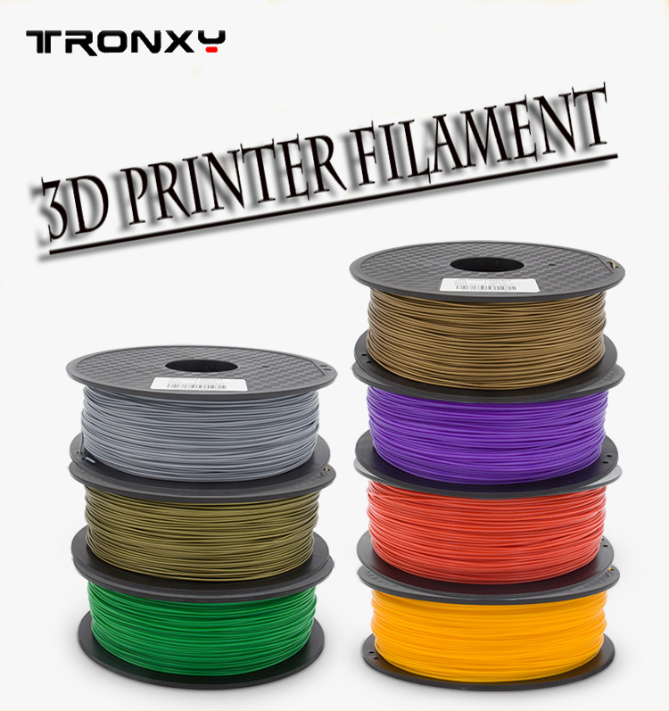 PLA ABS Conductive 3D printer filament 3mm /1.75mm 1KG / Roll High quality