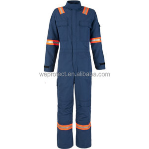 EN 11612 Aramid Work Safety Garment Coveralls