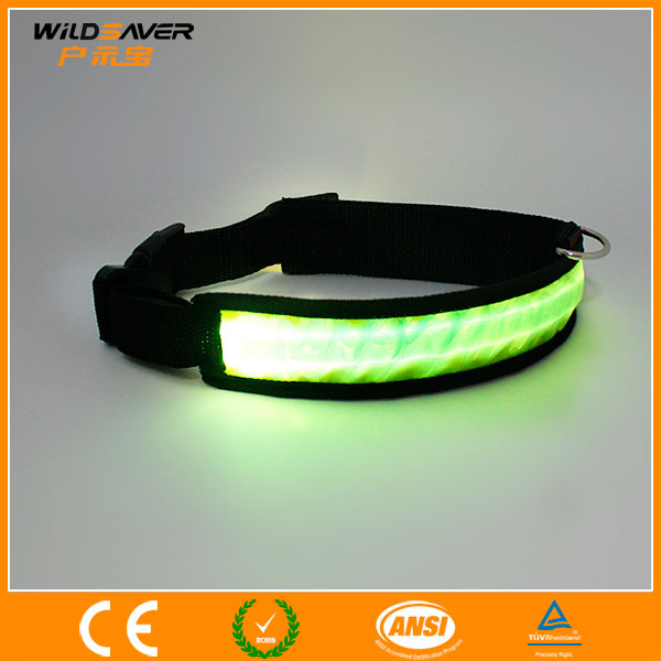 Flashing LED wholesale pet collar