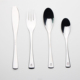 Brilliant BC2108 UNITED AIRLINES FLATWARE CUTLERY 3 PIECE SET ~ KNIFE, FORK, SPOON
