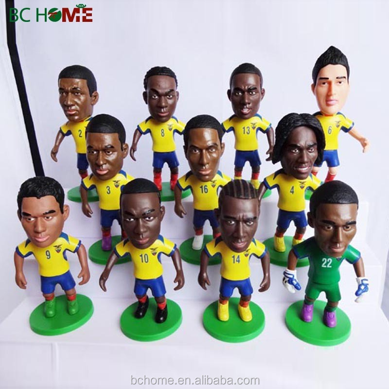 Football player for world up;famous men soccer player;football player doll,custom football team player