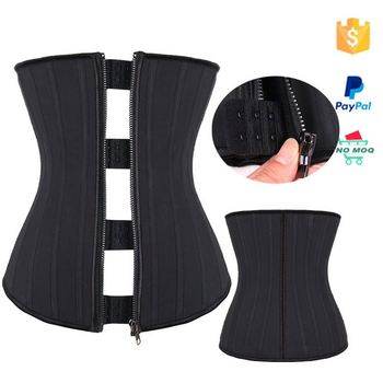 e6c5781ada6 Faja Fitness Latex Clip Zip Zip Up Waist Trainer - Buy Zip Up Waist ...