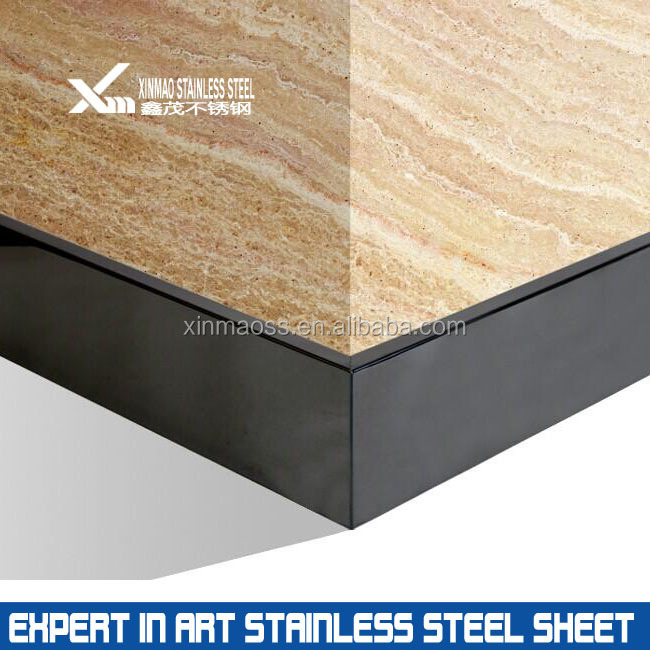 Mirror Finish Stainless Steel Decorative Skirting Board